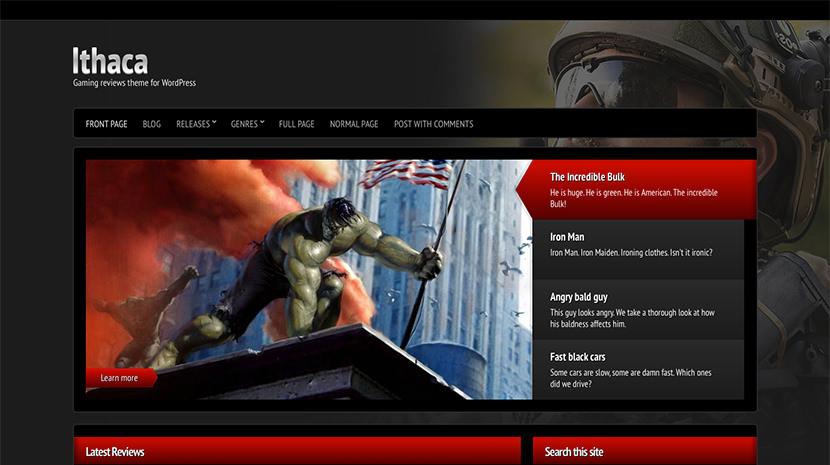 Ithaca desktop screenshot
