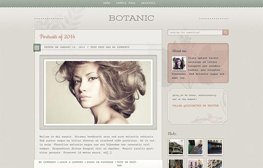 Botanic laptop screenshot
