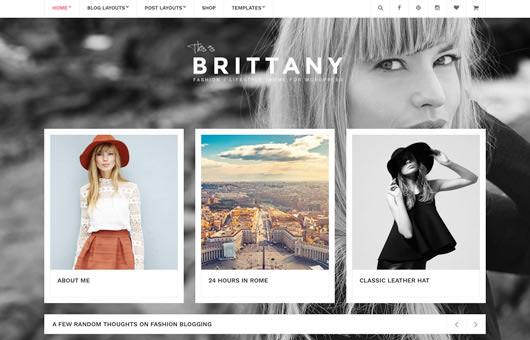 Brittany laptop screenshot