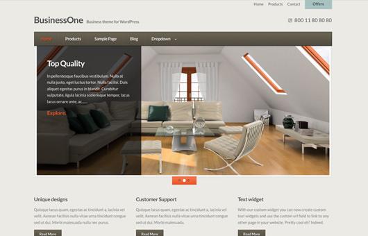 BusinessOne laptop screenshot