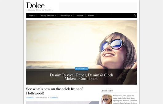 Dolce laptop screenshot