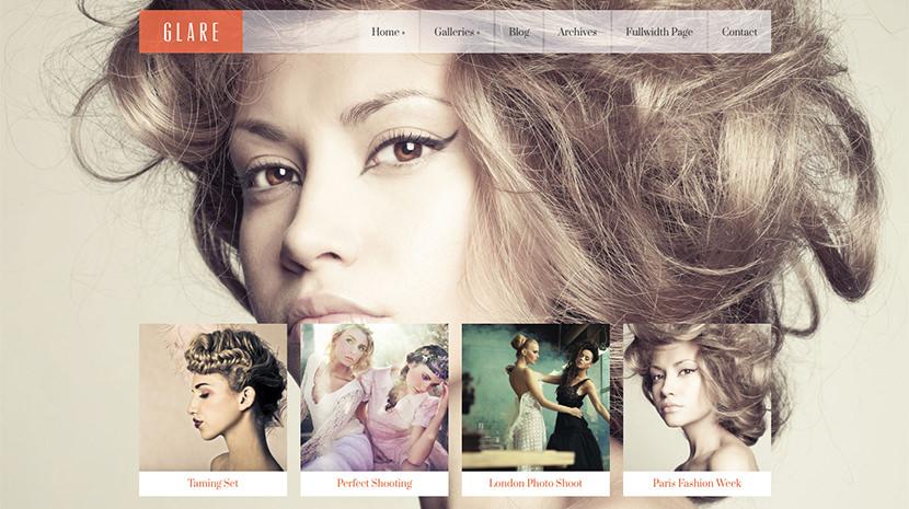 Glare desktop screenshot