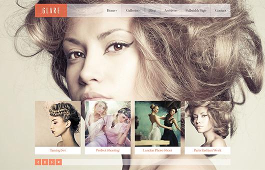 Glare laptop screenshot