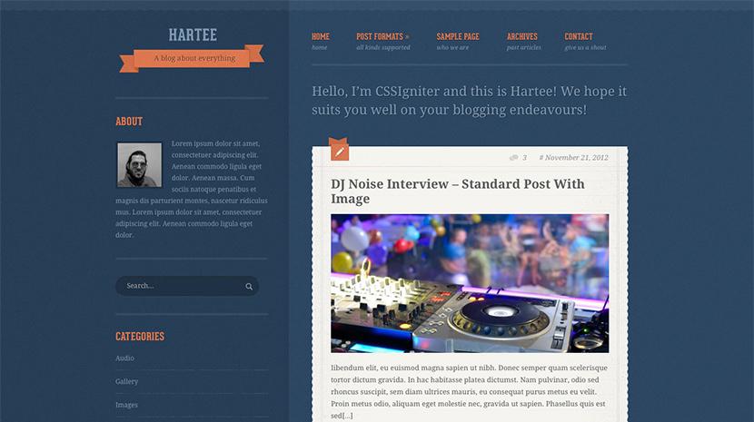 Hartee desktop screenshot