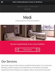 Medi large tablet screenshot