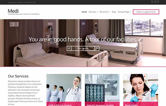 Medi laptop screenshot