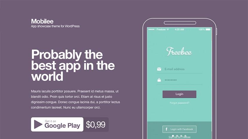 Mobilee desktop screenshot