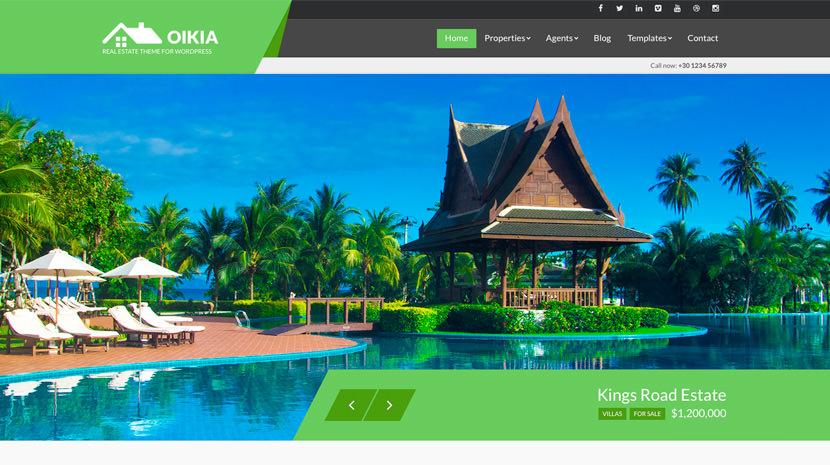Oikia desktop screenshot