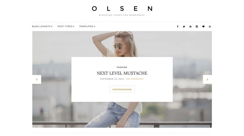 Olsen desktop screenshot