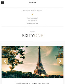 SixtyOne large tablet screenshot