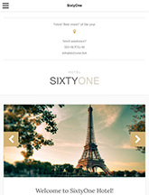 SixtyOne small tablet screenshot