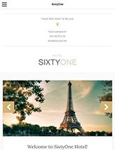 SixtyOne small tablet screenshot