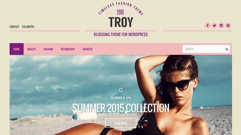 Troy desktop screenshot