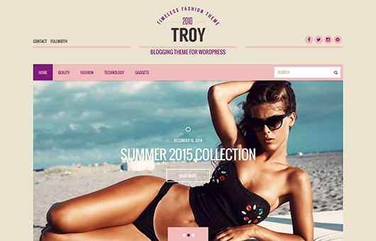 Troy laptop screenshot