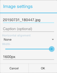 android-image-settings