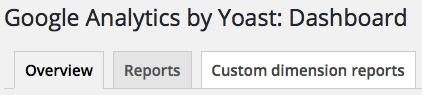 google-analytics-by-yoast-dashboard