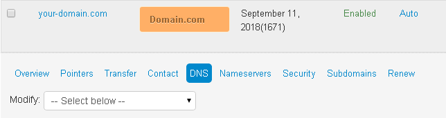 ipage-change-dns