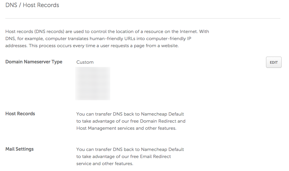 namecheap-dns-host-records-manage