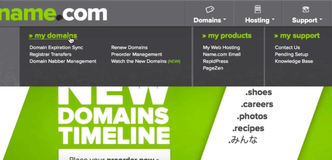 namecom-my-domains