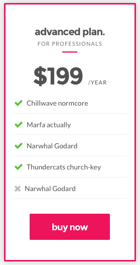 roxima-pricing-item