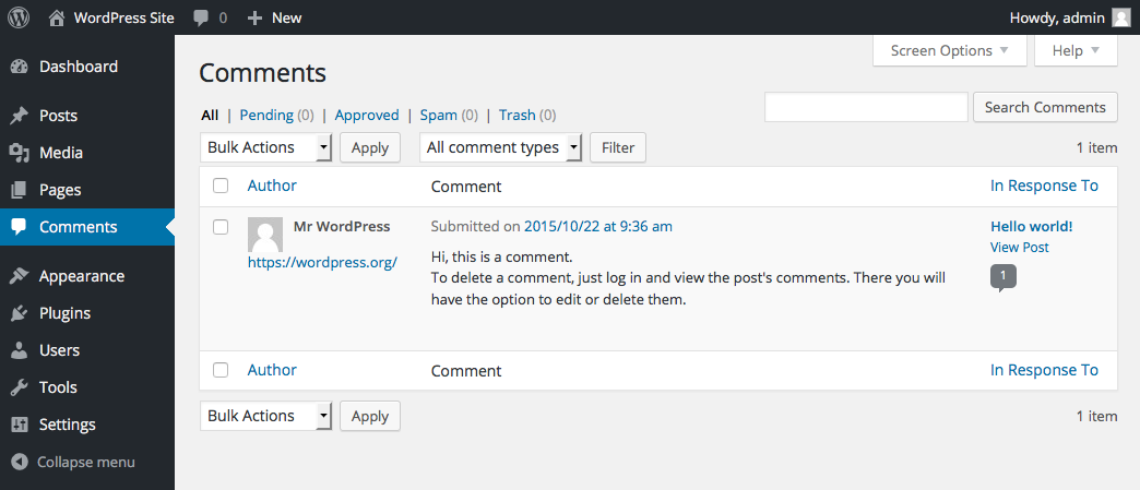 wordpress-site-comments