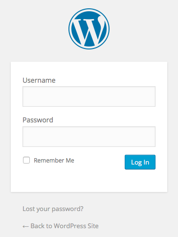 wordpress-site-login-form
