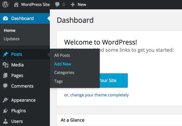 wordpress-site-posts-add-new
