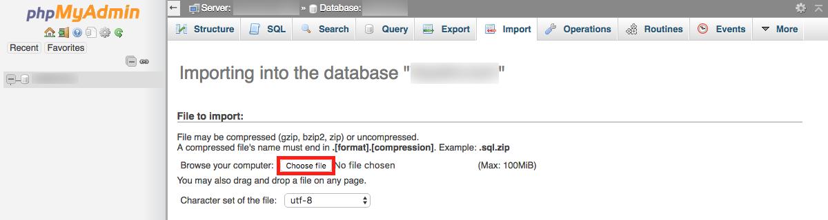 phpmyadmin-database-import
