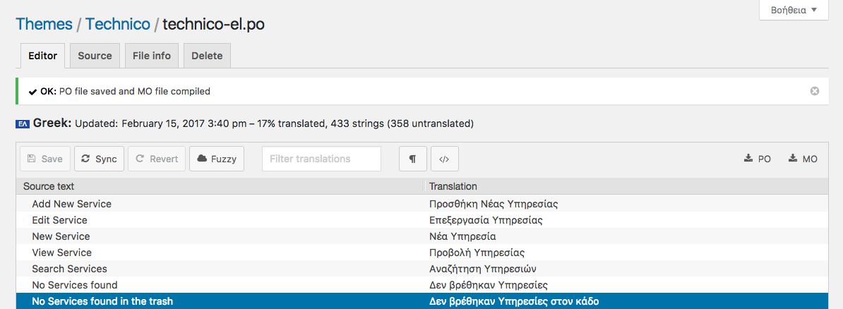 How to translate a WordPress theme directly in your browser   MagicPress